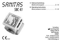Sanitas SBC 41 653.35 Data Sheet