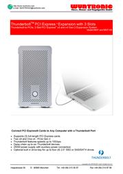 Wuntronic EB3T-DB WM1-095-310 User Manual