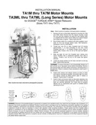 Dodge Saw TA1M User Manual