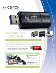 Centon 2GB USB 2.0 DSK2GB-HOU Leaflet