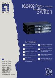 CP Technologies FSW-1609TFX Leaflet