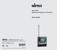 MIPRO ACT-70T ACT 70T(6UA) User Manual
