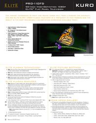 Elite PRO-110FD Leaflet