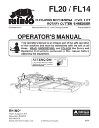 Rhinotek RHINO FL20 User Manual