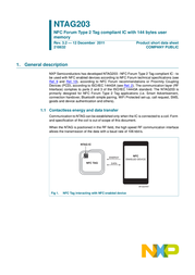 Quickcool Radio modules KEYFOB-NTAG203-03ABSBU Data Sheet