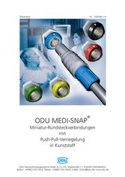 Odu KM1 020 122 934 007 Accessory For MEDI-SNAP Circular Connector KM1 020 122 934 007 Data Sheet