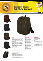 Crumpler CGFBP-003 Leaflet