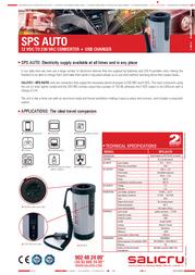 Salicru SPS.AUTO 658BB-01 Leaflet