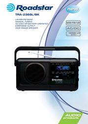 Roadstar TRA-2388L/BK Leaflet