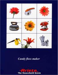 Ariete Candy floss maker 2970 User Manual