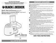 Applica MFP200T Food Processor MFP200T User Manual
