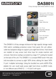 Edge10 4TB DAS801t 31748 Leaflet
