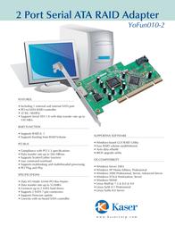 Kaser YOFUN010-2 Leaflet