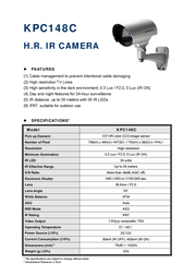 CPcam KPC148C Leaflet