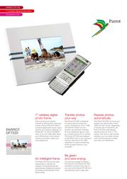 Parrot DF7220 Leaflet