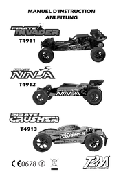 T2m Brushed 1:10 RC model car Electric Truggy T4913 User Manual