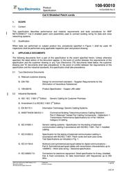 TE Connectivity LAN Cat.6 S/FTP 1-0959385-0 User Manual