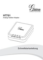 Grandstream HT701 HANDYTONE ATA-ROUTER HT701 User Manual