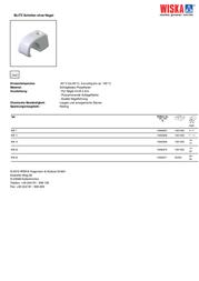 Wiska 10060868 WB 11 Light grey (RAL 7035) 10060868 Data Sheet