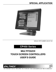 ALTINEX CP450 Series User Manual