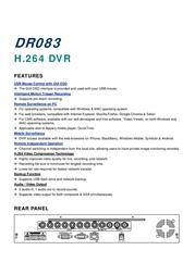 AVTECH DR083 Leaflet