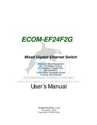 Ecom Instruments ECOM-EF24F2G User Manual