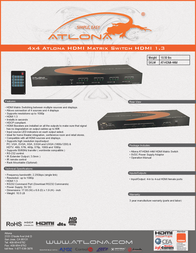 Lenexpo AT-HDMI-44M Leaflet
