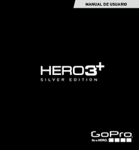 GoPro HERO3+ Silver Edition CHDHN-302 Data Sheet