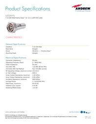 Andrew L4TDM-PS User Manual