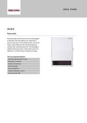 STIEBEL ELTRON CK 20 S 071793 Data Sheet