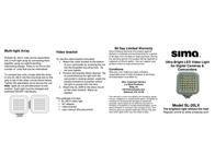 Sima SL-20LX User Manual