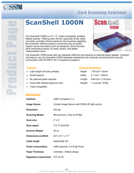 CSSN 1000n Specification Guide