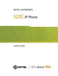 Mitel Networks 5448 PKM 50002824 User Manual
