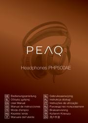 PEAQ PHP500AE User Manual
