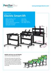 PresTop PT-M-SMARTLIFT Black - electric lift PT-M-SMARTLIFT BLACK Product Datasheet