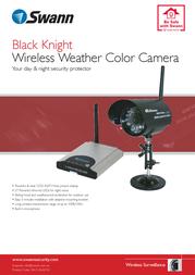 Swann BlackKnight Camera SW233-BKY Leaflet