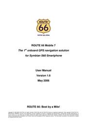 Route 66 mobile 7 User Guide