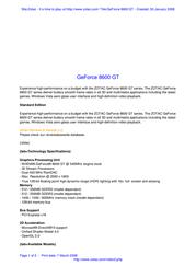 Zotac ZT-86TEH2P-FSL Leaflet
