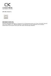Contrik A-UP2-ED EDIZOdue A-UP2-ED Data Sheet