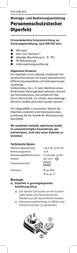 Kopp Personal protective equipment 1469.1651.9 Data Sheet