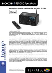 Terratec NOXON iRadio 10535 User Manual