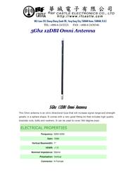 WiFi-Link Omni antenna 12dbi 5.3Ghz WLO-5350-12 User Manual