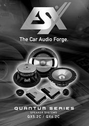 ESX QX-5.2 C QX5.2C User Manual