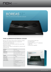NOX Boreas 17 NOXBOR17 Leaflet