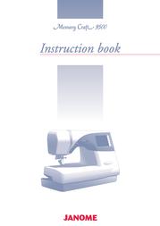 Janome 9500 User Manual
