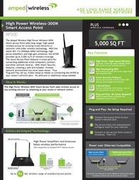 Amped Wireless AP300 Leaflet