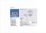 Ebe Group TDS-K07W 12VDC, 1.5/3 N electromagnet, 12 Vdc 12 W M3 3100147 Data Sheet