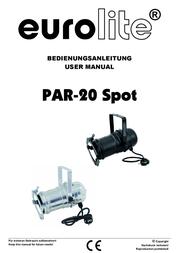 Eurolite PAR-20 42103580 User Manual