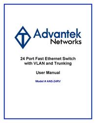 Advantek Networks ANS-24RV User Manual