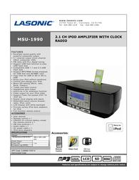 Lasonic msu-1990 Specification Guide